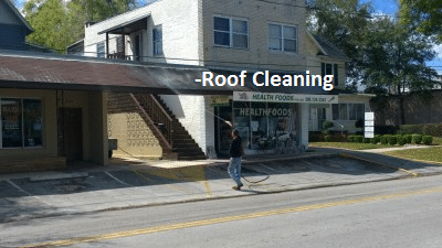 Roof Cleaning Information