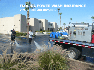 FLORIDA POWER WASH INSURANCE